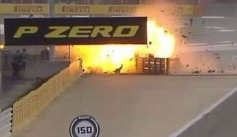 Γκραν Πρι Μπαχρέιν: Μονοθέσιο κόπηκε στη μέση και έγινε παρανάλωμα πυρός [vid]