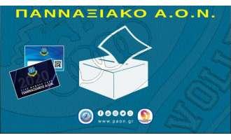 Πανναξιακός ΑΟΝ: Κάλεσμα για τις εκλογές της Κυριακής