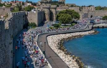 2000 αθλητές από 44 χώρες συμμετείχαν στον 1ο Rhodes VirtualMarathon