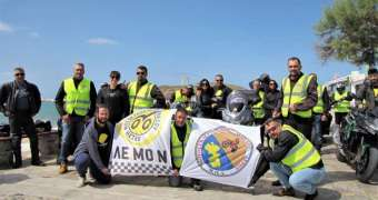 ΛΕΜΟΝ: Οι μοτοσυκλετιστές δεν ξέχασαν τη Νάξο