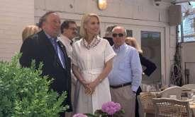 Η Ομογένεια της Νέας Υόρκης υποδέχτηκε τη βουλευτή Κατερίνα Μονογυιού σε εκδήλωση για το «Sail to Freedom»