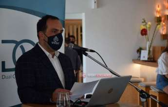 Ο χαιρετισμός του Δήμαρχου Μυκόνου Κωνσταντίνου Κουκά στο DCJA [vid]